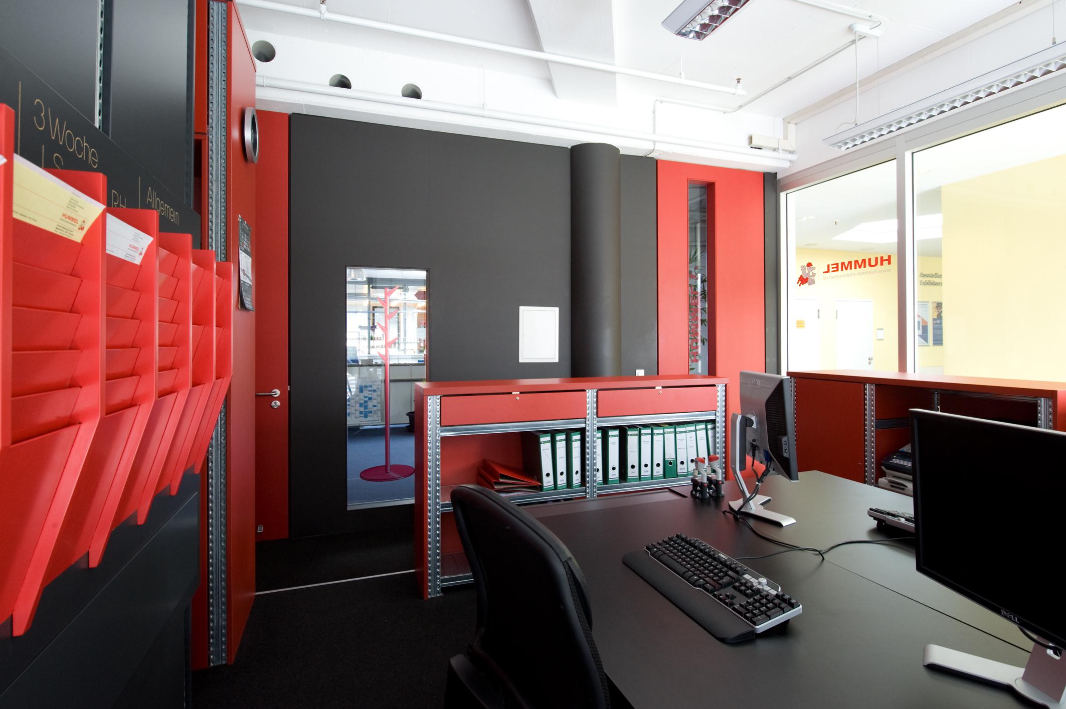 Hummel Messebüro entworfen von Alexander Wiedemann