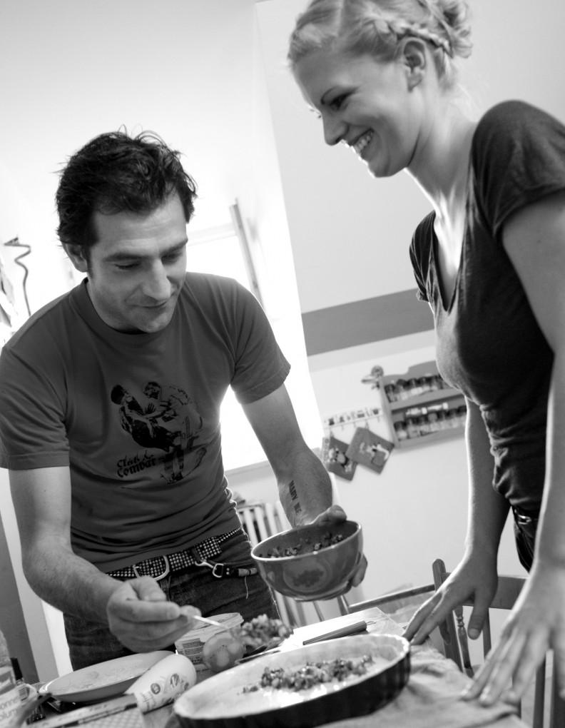 Jolie im Einsatz mit Martin Baudrexel