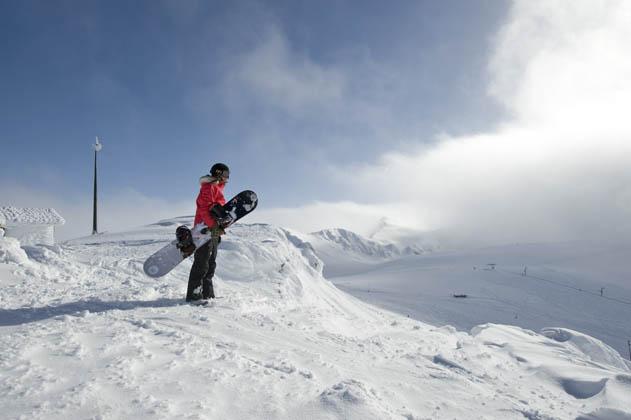 Parnassos Skigebiet in Griechenland