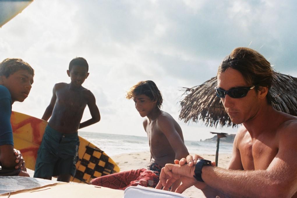 surf kids in Pipa /Brazil