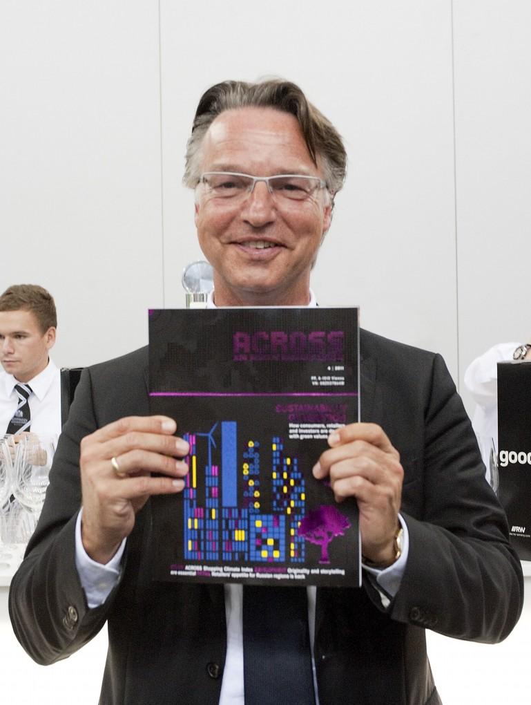 Managerporträt für Across Magazin /ExpoReal 2011
