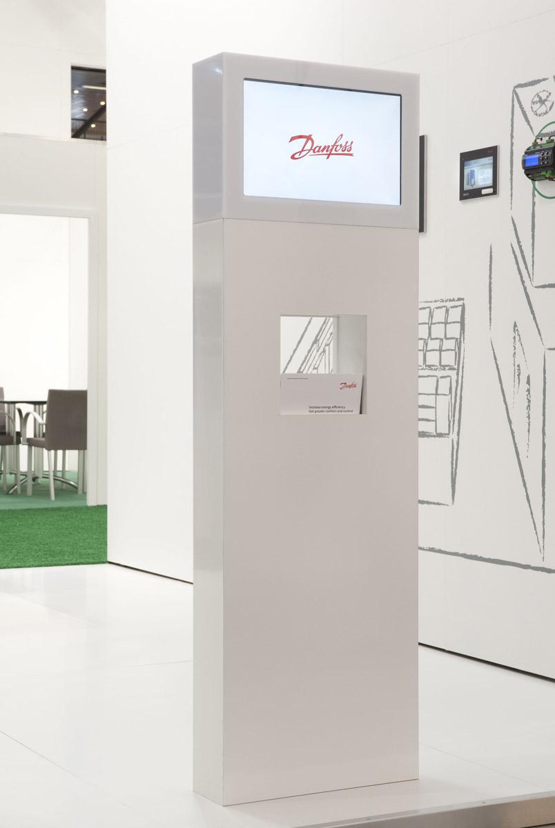 Danfoss Messauftritt in Mailand 2012 – Design und Konzept von WengerWittmann