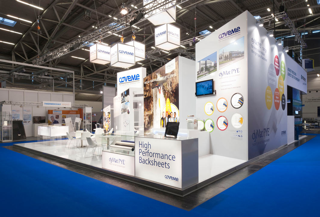 Coveme – Messeauftritt Intersolar 2012
