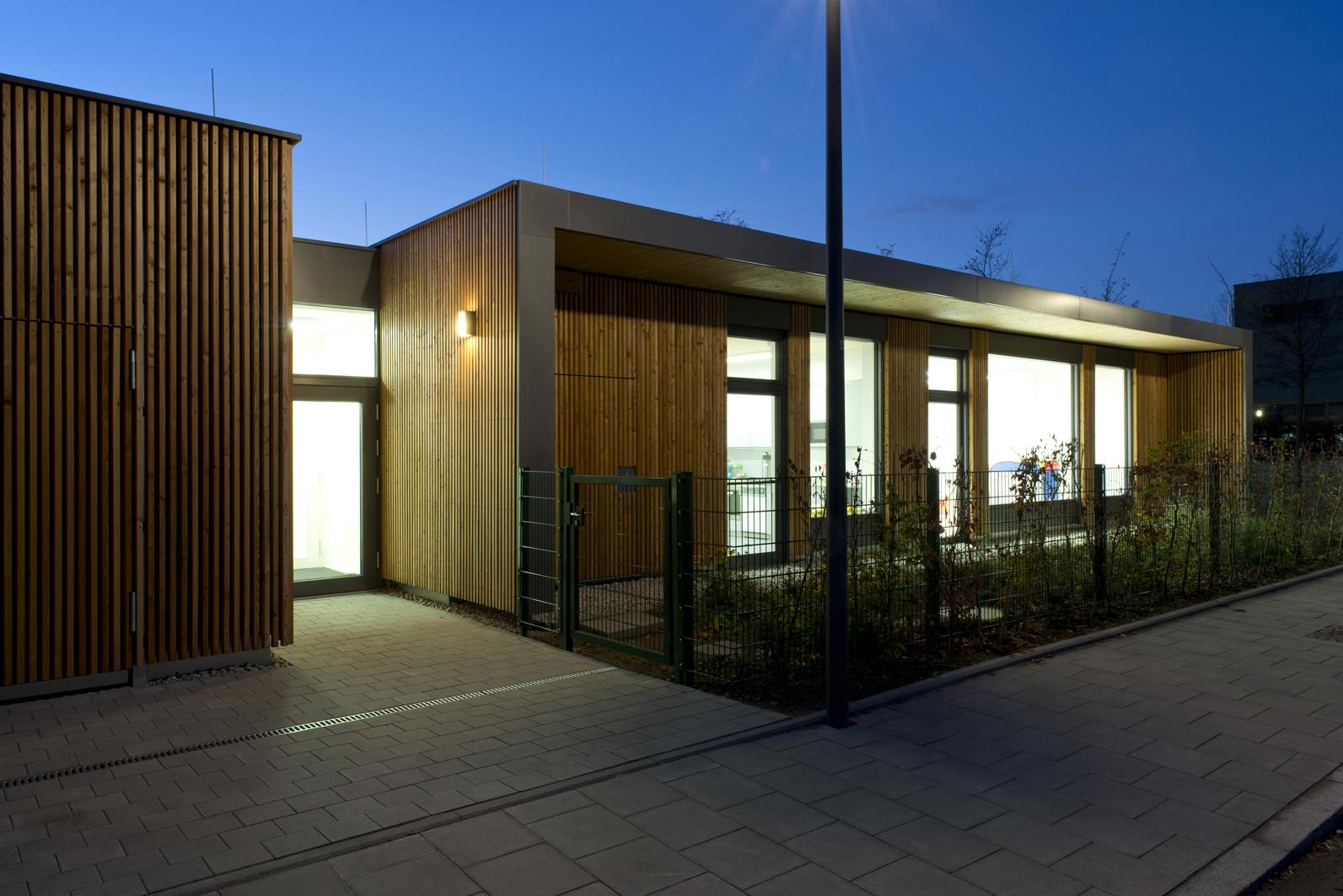 Kindertagesstätte in Riem von S46 Lauterbach Architekten