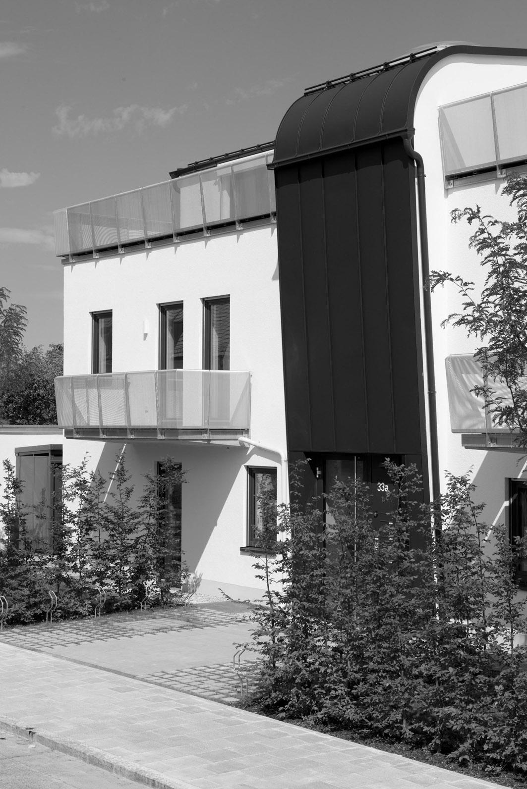 TW-Architekten      Wohnhaus München